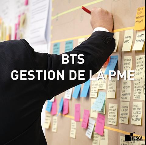 BTS ASSISTANT GESTION PME IESCA
