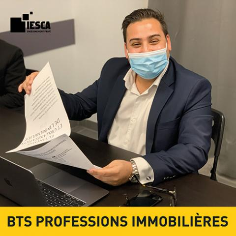 BTS PROFESSIONS IMMOBILIERES IESCA