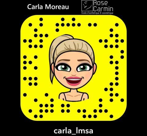Snap Carla Moreau Rose Carmin