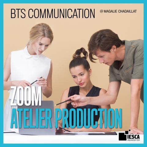 BTS COMMUNICATION ATELIER DE PRODUCTION